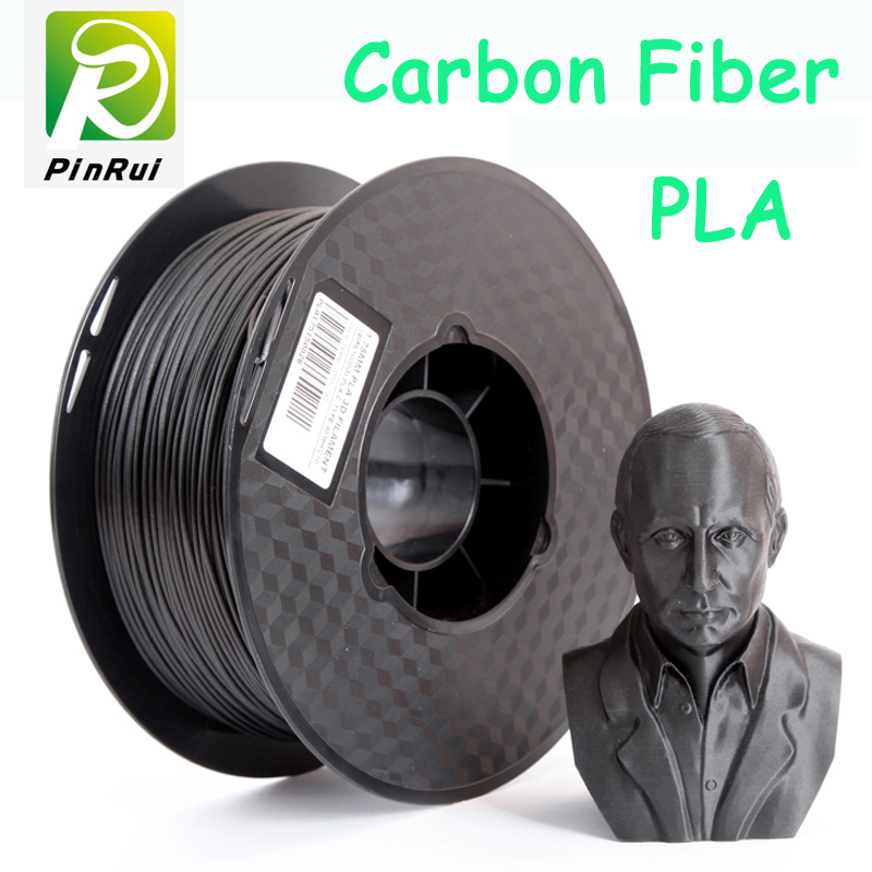 New design Carbon Fiber pla 3d printer filament pla filamento 1.75 3d filament 0.8kg 3d printer extruder 1.75 pla filament flsun 3d printer big pulley kossel 3d printer with one roll filament sd card fast shipping