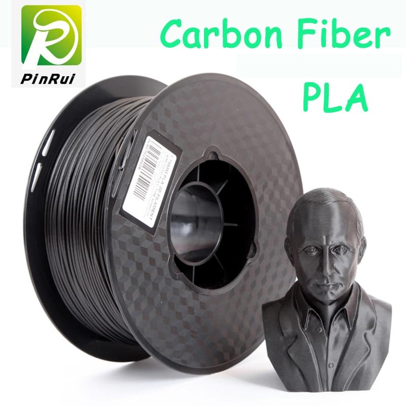 עיצוב חדש פחמן סיבים PLA 3D חוט נימה PLA filamento 1.75 נימה 3D 0.8kg 3D מדפסת extruder 1.75 PLA נימה