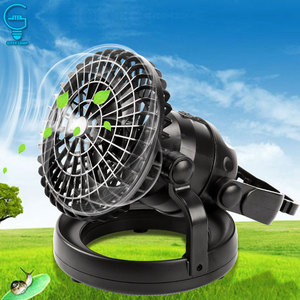 2 In 1 Camping Ceiling Fan Lig