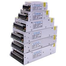 Đèn Lái AC100 240V để DC5V 12V 24V 1A 2A 3A 5A 10A 15A 20A 30A 40A 60A Điện adapter dành cho Dây ĐÈN LED ánh sáng Cung Cấp Máy Biến Áp