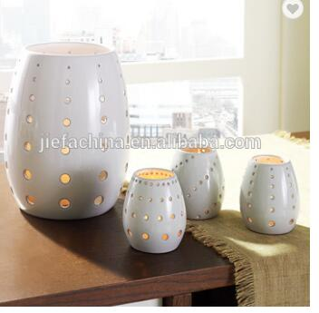 Party Wedding Home Decoration New Style Ceramic Candle Holder