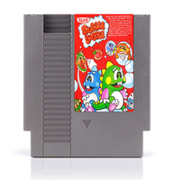 Bubble Bobble 8 Bit Game Card for 72 Pins Game Players