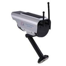 Solar Power Fake Dummy Outdoor Security Home CCTV Camera Flashing LED light FC dummy surveillance camera Surveillance System