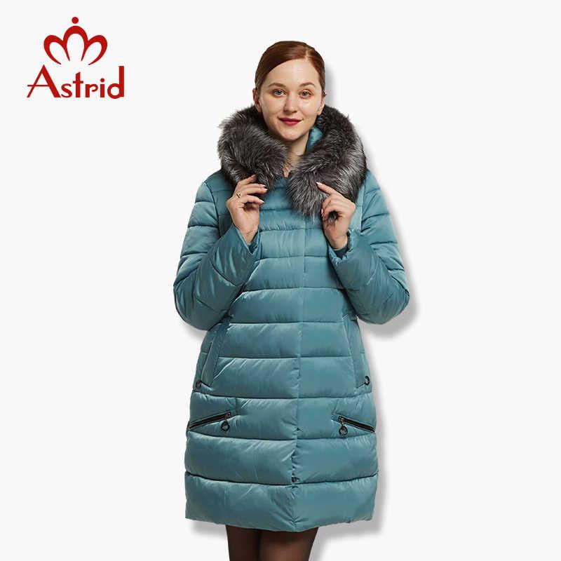 Astrid зимняя женская куртка большого размера теплая куртка-пуховик женские большие парки новая зимняя хлопковая верхняя одежда пальто для женщин FR-1572
