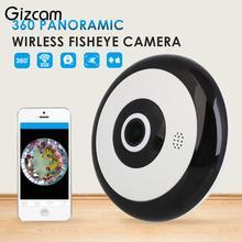 Gizcam 360 панорамный Fisheye HD WI-FI Cam Главная безопасности сети ip мини-Камера