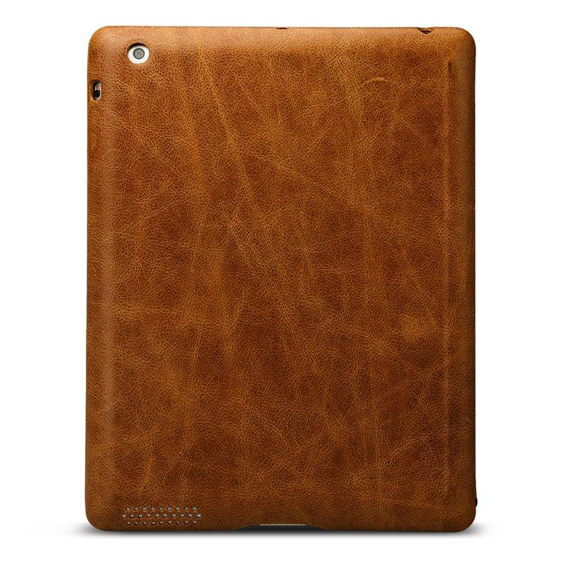 Funda para iPad 2018 de Jisoncase Funda Cuero genuino para iPad 2/3/4 - Accesorios para tablets - foto 2