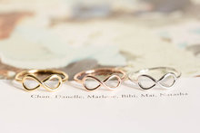 WJZB Fashion figure of eight ring.A small gift for woman