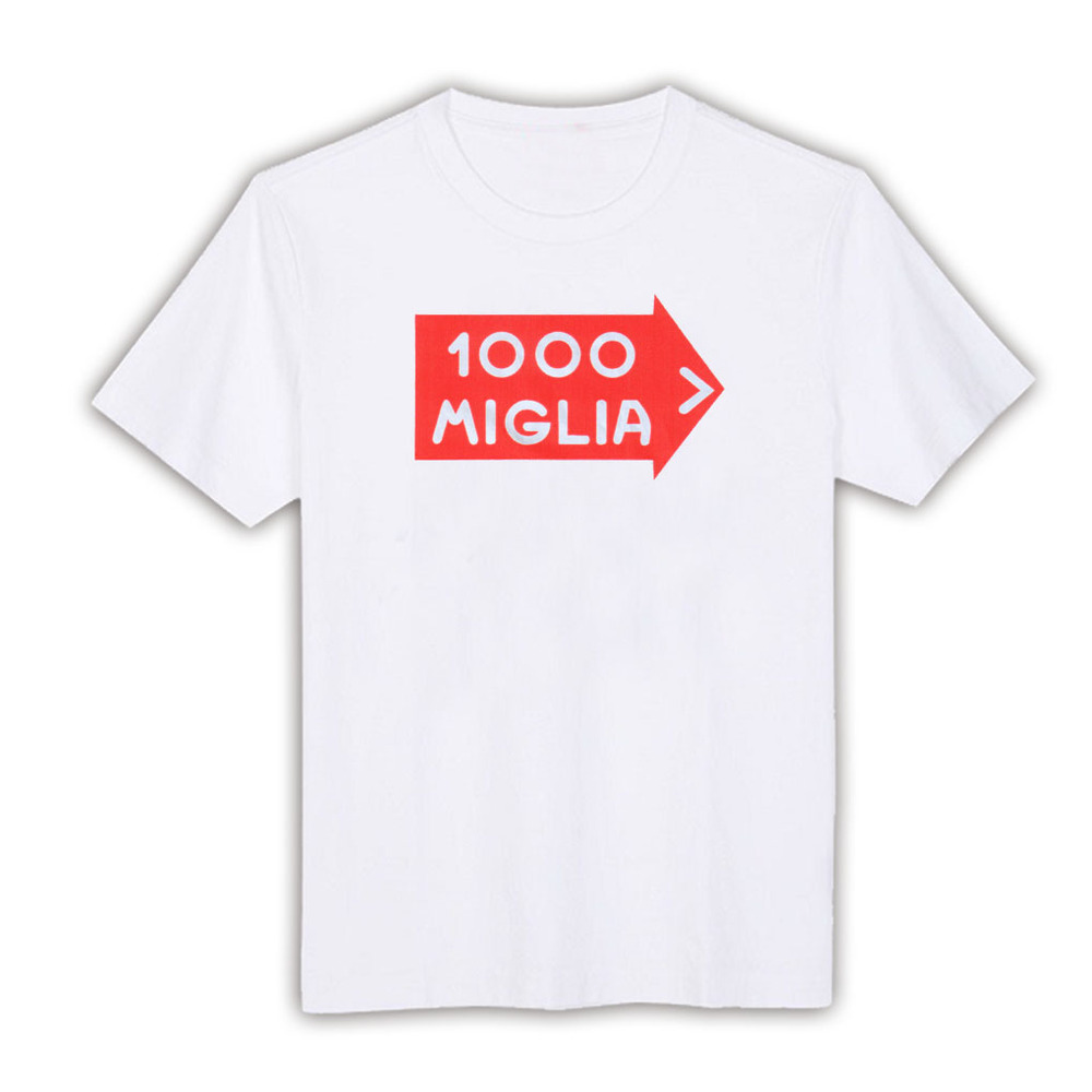 Design your own t shirt digital printing - 1044908 Vintage Italian Mille Miglia Rally Decal T Shirt White Cotton 1000 Digital Men T