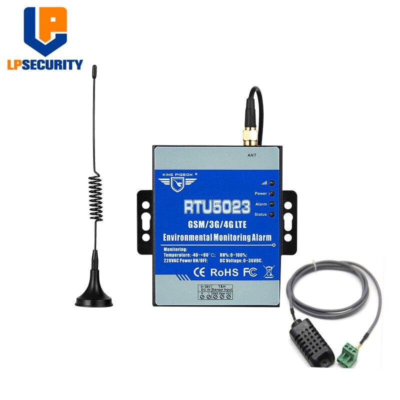 Gsm Umwelt Alarm System Power Status Überwachung Temperatur Feuchte Sensor Unterstützt Modbus Rtu Über Tcp -fernbedienung