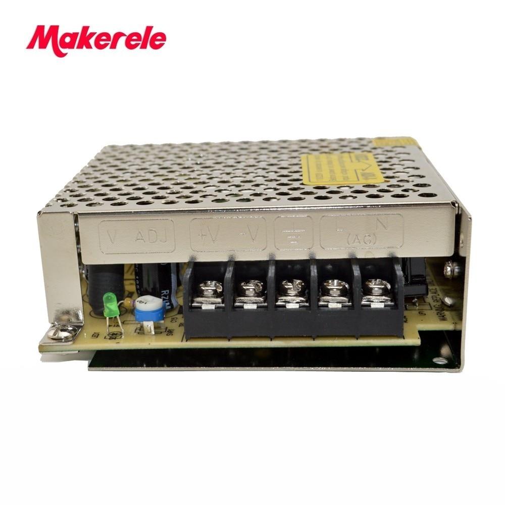Single Output Switching power supply hot sale high quality  AC-DC CE 25W 15V 1.6A for LED Strip light AC110V/220-DC15V S-25-15 1200w 48v adjustable 220v input single output switching power supply for led strip light ac to dc