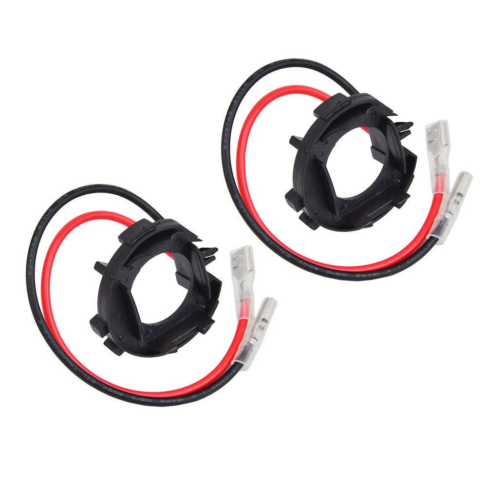Adaptador de bombilla de faro LED para coche Base soporte H7 para VW Golf Jetta MK7 MK6/Scirocco/Touran/ sharan