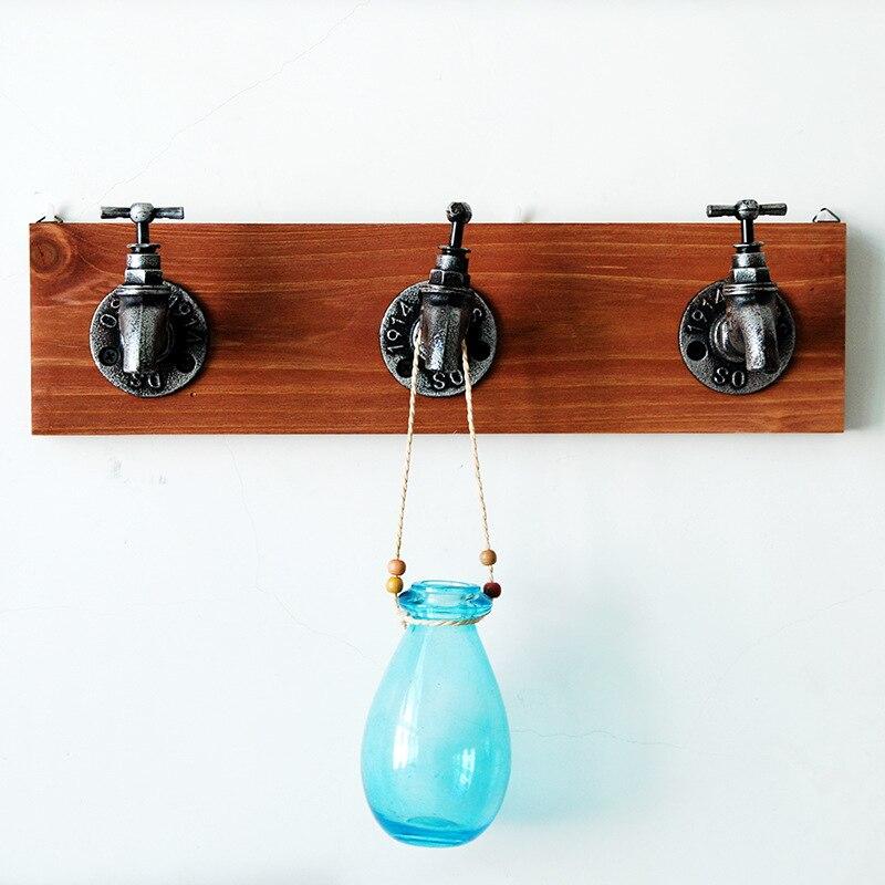 Creative décor à la maison robinet forme crochet maison mur décoration accessoires stockage cintres gancho multifonctionnel mur porta chave