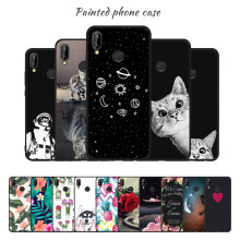 KK PINK Soft TPU Pattern Cover Case For Huawei P9 P10 P8 Lite P20 Plus Enjoy 8 Plus Y9 Nova 2i Lovely Back Coque Matte Phone Bag(China)