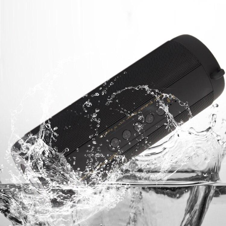 T2 Bluetooth Speakers Wireless Best Waterproof Portable Loudspeaker Outdoor Mini Column Box Speaker Design for iPhone Xiaomi best bluetooth speaker wireless waterproof portable outdoor mini column box loudspeaker big power aux 10w spiker sound system