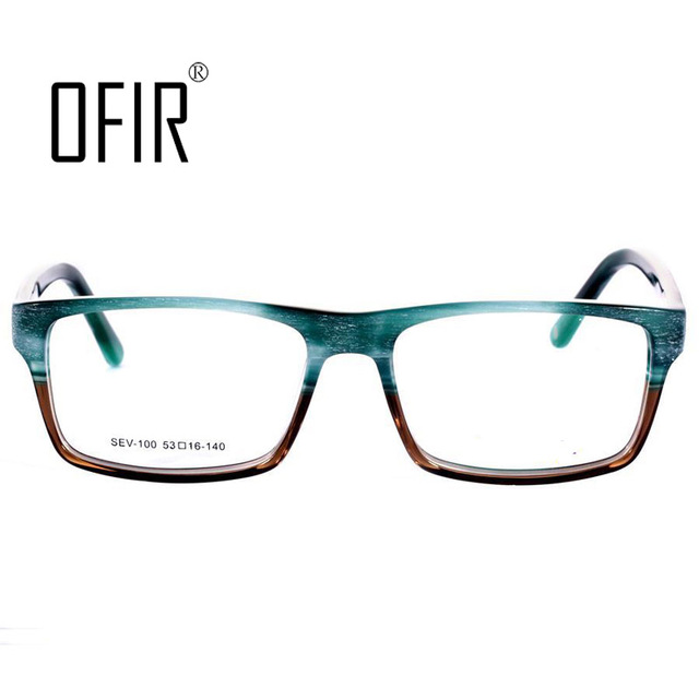 OFIR Men Spectacle Frame Women Girl Computer Prevent Myopia Reading Glasses Optical Frame Eyeglasses Armacao Oculos De  SEV-100