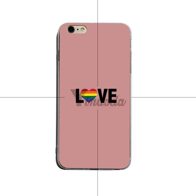 ينودا مثلي الجنس المثليات LGBT قوس قزح فخر الفن الساخن موضة المرح الديناميكي الهاتف حقيبة لهاتف أي فون XSMax X XS XR 7 7Plus 8 8plus 6s 6plus