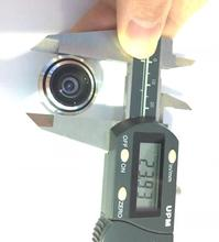 New 1/3inch Mini Lens 1.7 mm Ultra Wide Angle (Fish Eye View)For CCTV IR HD AHD TVI 1080P Wireless Network Night Vision Camera
