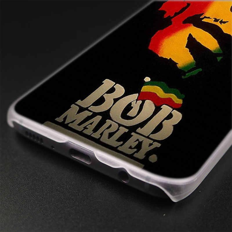 MLLSE Reggae Bob Marley แฟชั่นโปร่งใสสำหรับ Samsung Galaxy S10 Lite S9 S8 Plus S7 S6 Edge S5 s4 Mini Hot