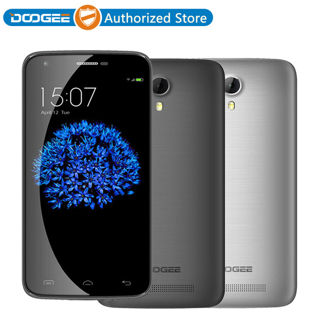 "Original Doogee Y100 Plus 4G LTE Smartphone 5.5"" HD MTK6735 Quad Core 2GB RAM 16GB ROM 13MP Android 5.1 Mobile Phone"