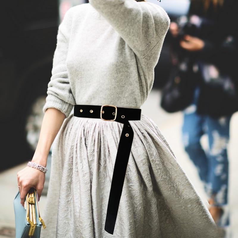 Retro amplia traje cuadrado cinturón de cintura con borla fiesta cinturones y fajas las mujeres cadena de la cintura cinturón