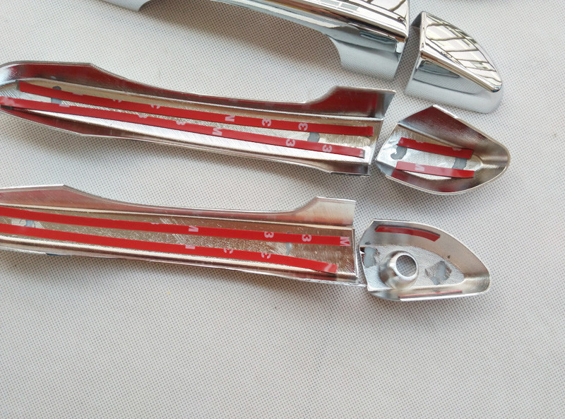 For HYUNDAI TUCSON TL 2015 2016 ABS CHROME DOOR HANDLE COVER Auto ACCESSORIES Free shipping (4)