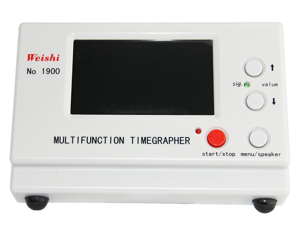 Weishi Mechanical Watch Timing Tester Machine Multifunction Timegrapher NO. 1900