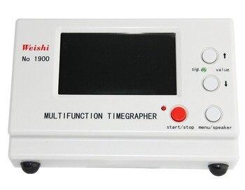 Weishi  Mechanical Watch Timing Tester Machine Multifunction Timegrapher NO. 1900 mtg 2000 multifunctional mechanical watch table line machine watch tester