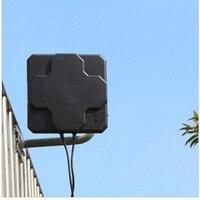 אנטנה עבור גבוהה רווח 698-2690MHz 4G LTE אוויר Directional MIMO Antenne עבור נתב אלחוטי חיצונית אנטנה 4G 18dbi לוח (2)