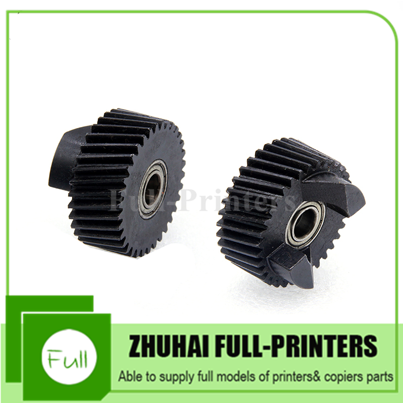 2 PCS New Compatible Fuser Drive Gear for Xerox DC4110 4112