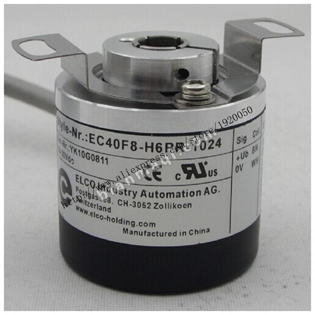 Estante EC40F8-H6PR-1024 Elco ELCO 1024 línea de codificador rotativo con eje hueco 8mm