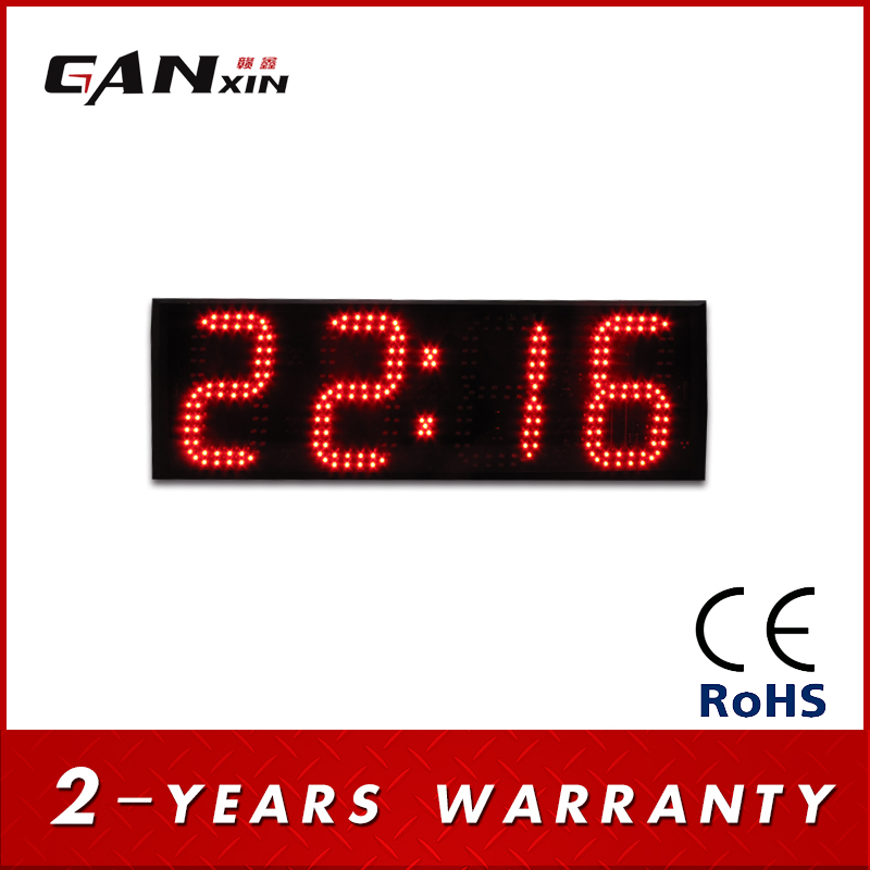 Large Display Digital Wall Clock PromotionShop for Promotional
