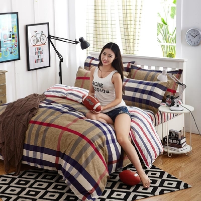 Free ship comfortable household adult cartoon bedding set Sheet / Duvet Cover e Winter Cotton Comforter Bedding Sets ...