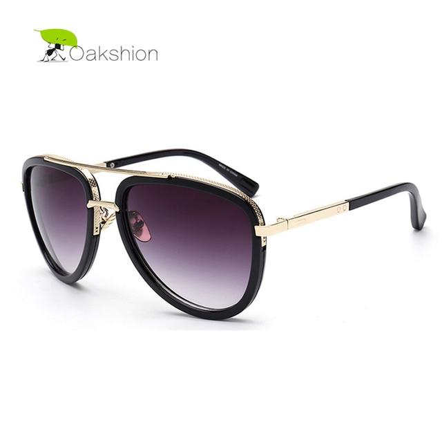 8d56e4d488a59 2018 Aviator Lunettes de Soleil pour Hommes Marque Designer lunettes de Soleil  Femmes Lunettes Surdimensionné Lunettes