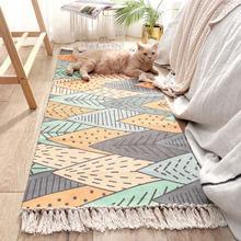 Alfombras y felpudos decorativos florales Vintage para decoración del hogar, alfombras rectangulares para sala de estar