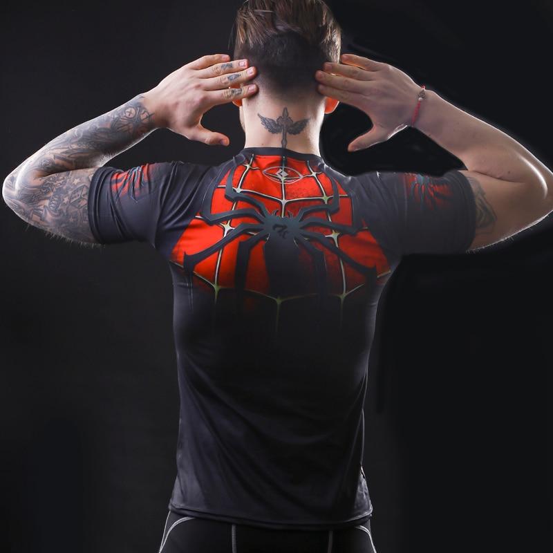 2017 marvel batman kompression shirt fitness strumpfhosen crossfit - Herrenbekleidung - Foto 6