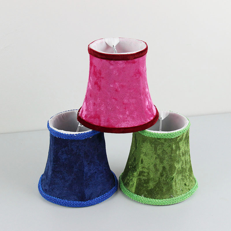 Red Green Blue Flannel Lamp Shades, Chandelier Mini Lamp Cover, Clip On In  Lamp Covers U0026 Shades From Lights U0026 Lighting On Aliexpress.com | Alibaba  Group