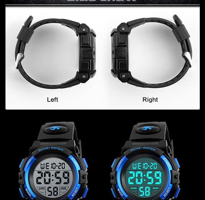 relógios led digital relógio de pulso para