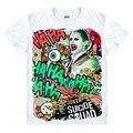 Джокер Suicide Squad рубашка Мужская Harley Quinn Джокер 3D Т рубашка Рик Флэгг Доктор Стрэндж футболка костюм косплей унисекс прохладный тройники
