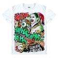 Coringa camisa Esquadrão Suicida Dos Homens Harley Quinn Coringa 3D T camisa Rick Flagg Doutor Estranho t-shirt traje cosplay unisex legal tees