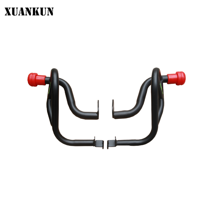 XUANKUN LF150-5U / KPmini Modifier / Athletic Bar / Bumper xuankun motorcycle lf150 5u kpmini front footrest assembly