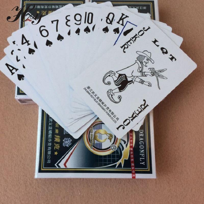 Poker Set Hrací karty Vodotěsný Boardgame Baralho Cartas Karetní hry Cartas De Poker palying karta Pokerové karty Juegos De Cartas
