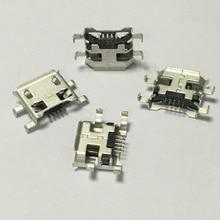 10pcs/lot Micro USB 5pin B Type Female Connector  For Mobile Phone Micro USB Jack Connector 5 pin Charging Socket