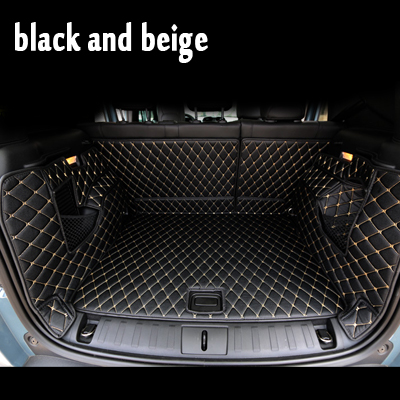 Car Sticker Cover Car Travel Brand Trunk Mats Waterproof Cargo Liner Boot Carpets For Toyota Landcruiser Zelas Sequoia