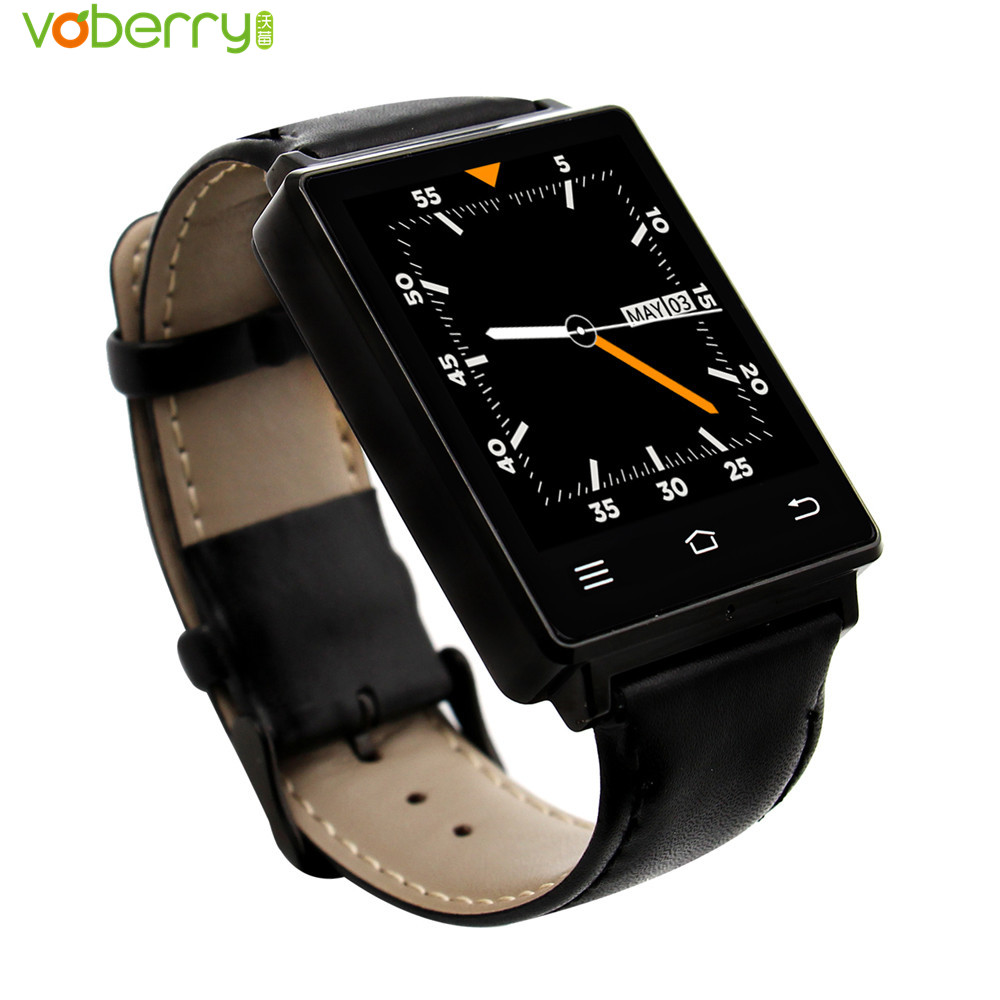D6 Smart Watch Phone 1.63 inch MTK6580 Quad Core 3G Android 5.1 Wear WiFi GPS Smartwatch Heart Rate Monitor for Android IOS 2016 update gv08 smart watch 15 inch 2mp