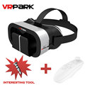VR Glasses Google cardboard VR PARK VR Box Virtual Reality 3D Glasses Bluetooth Wireless Remote Controller