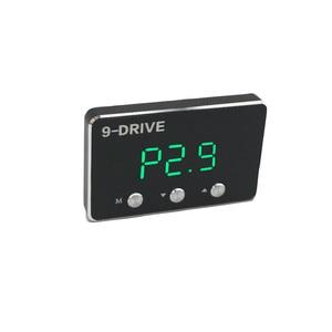 Image 3 - Schwarz auto gas geschwindigkeit erhöhen Starke booster qualifizierte Auto pedal controller für toyota hilux reiz mark X landcruiser prado