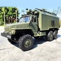WPL B36 Ural 1/16 2.4G 6WD RC Truck Military Car Rock Crawler Command Communication Vehicle RTR Toy Auto Army Trucks Boy Toys