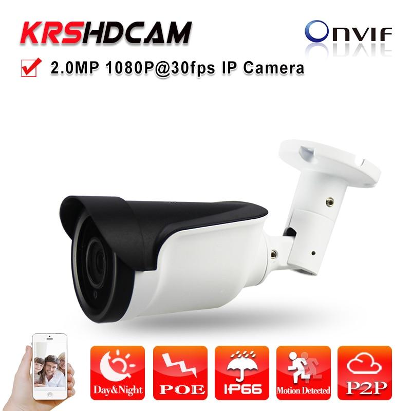 Full HD IP camera 2mp 1080p poe onvif2.4 SONY imx290 1920*1080 outdoor waterproof ip66 Bullet 3MP HD Lens Night Vision ip66 waterproof bullet camera onvif ip camera est iph6092b 2 mega pixels 1920 1080 1 2 8 sony cmos sensor with icr
