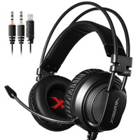 Brand Xiberia Gaming Headset Earphones Headphones With Microphone Gamer Gamer Bass Noise Isolating Brand Dj 3