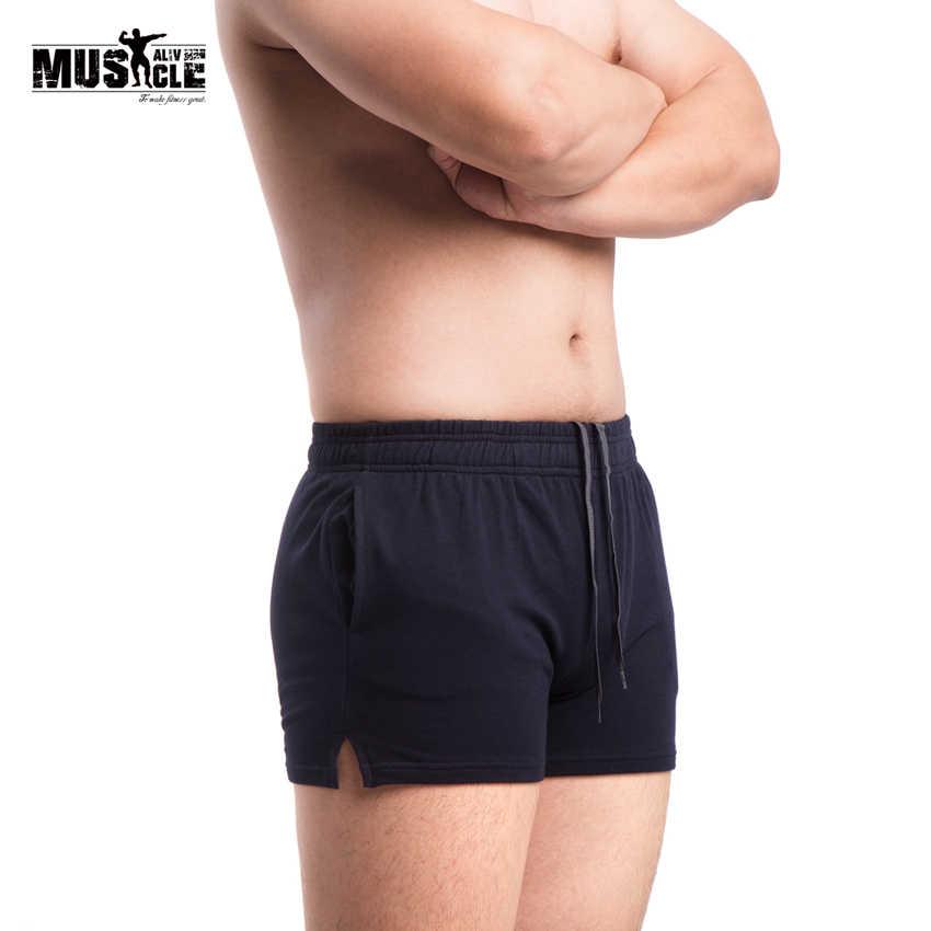 Alivebody Cinturones deportivos para hombres Shorts 3 Inseam Inside Drawstring Closure